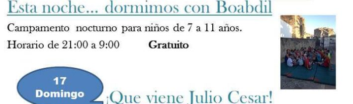 Visita Teatralizada: Que viene Julio Cesar!!!