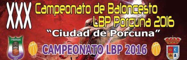 XXX Campeonato Baloncesto «Ciudad de Porcuna»