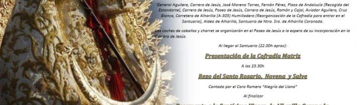 Romería Chica a la Santísima Virgen de Alharilla Coronada