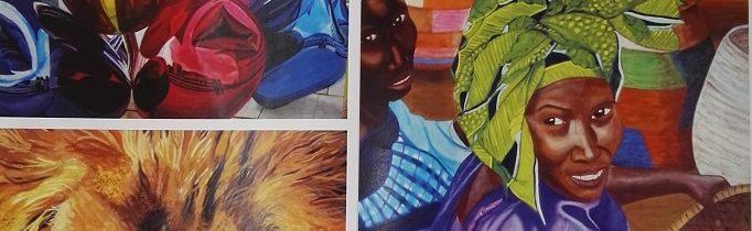 Exposición de pintura de Conchi Montilla