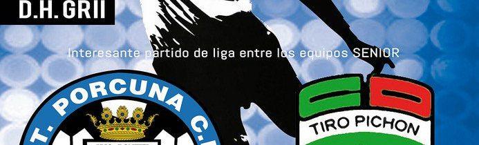 Fútbol Senior: Atco. Porcuna – CD Tiro Pichon