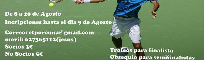 Tenis – Trofeo Feria Real 2016 (Fin inscripciones)