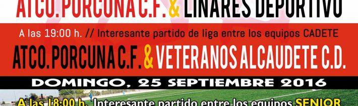 Fútbol Senior: Atco. Porcuna – CP Almería