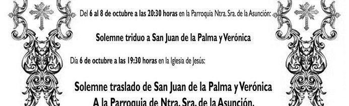 XXV Aniversario de la Cofradía de San Juan de la Palma y la Verónica