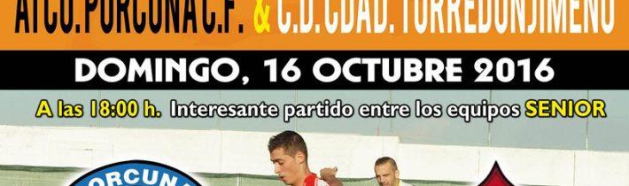 FÚTBOL: Atco. Porcuna C.F- C.D.C Est. Almería