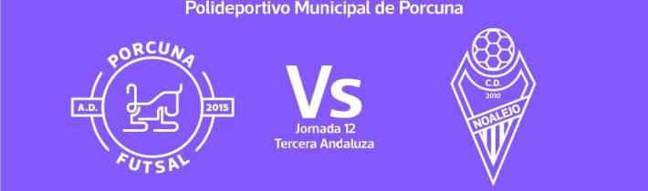 FÚTBOL SALA: A.D. Porcuna Futsal – Noalejo FS CD