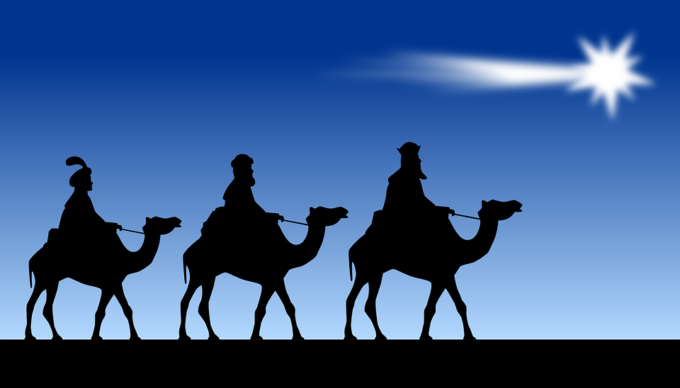 Entrega de cartas a los Reyes Magos de Oriente