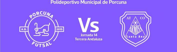 FÚTBOL SALA: A.D. Porcuna Futsal – C. D. Armisa