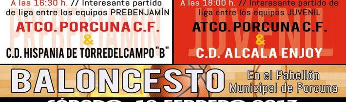 Fútbol: Atco. Porcuna – CD Alcala Enjoy (JUVENIL)