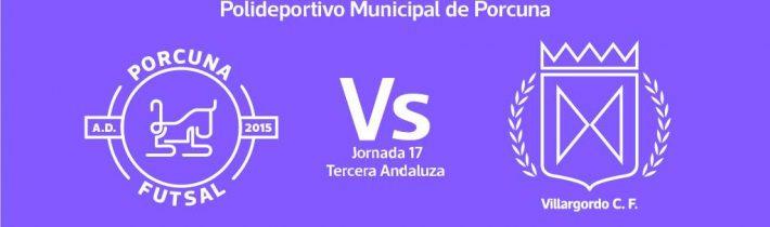 FÚTBOL SALA: A.D. Porcuna Futsal – Villargordo C.F