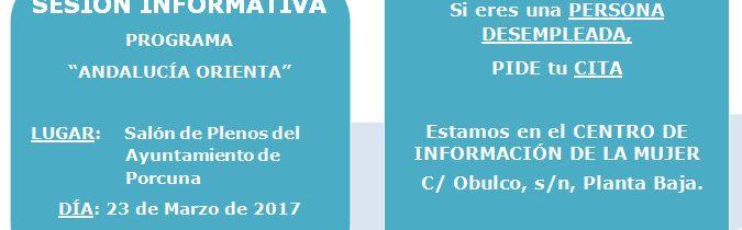 Sesión informativa 'Andalucía Orienta'