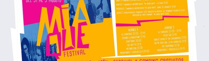 Presentación del #miaqueFEST – concierto en acustico