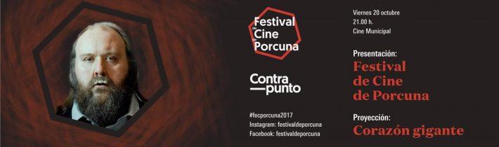 Presentación Festival de Cine de Porcuna
