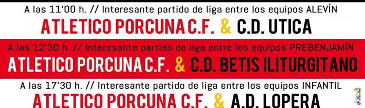Fútbol: Atco. Porcuna – C.D Útica  (ALEVIN)