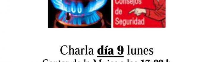 Charla informativa: Consejos de Seguridad sobre gas butano