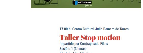FecPorcuna: Taller de STOP_MOTION