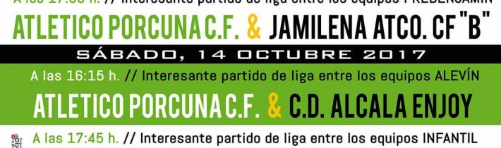 Fútbol: Atco. Porcuna – Carolinense C.D (INFANTIL)