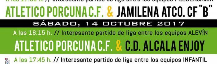 Fútbol: Atco. Porcuna – C.D. Alcala Enjoy (ALEVIN)