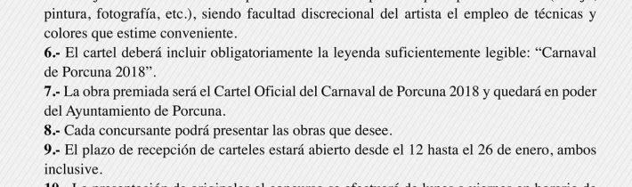 Concurso cartel del Carnaval