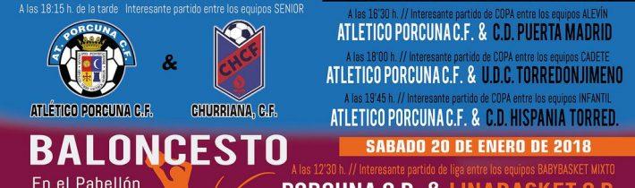 Fútbol: Atco. Porcuna – CD Hispania Torredonjimeno  (INFANTIL)