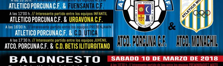 FÚTBOL: Atco. Porcuna – Atco. Monachil