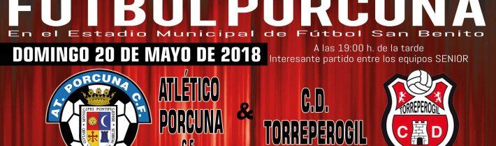 FÚTBOL: Atco. Porcuna – CD Torreperogil