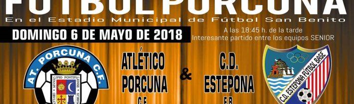 FÚTBOL: Atco. Porcuna – CD Estepona