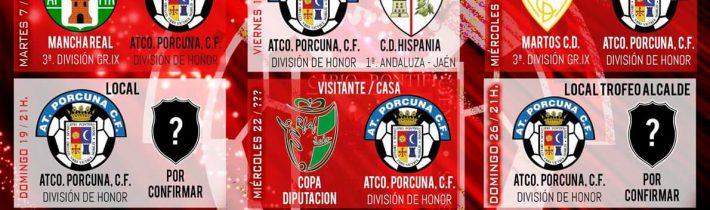 FÚTBOL: Atco. Porcuna – CD Hispania