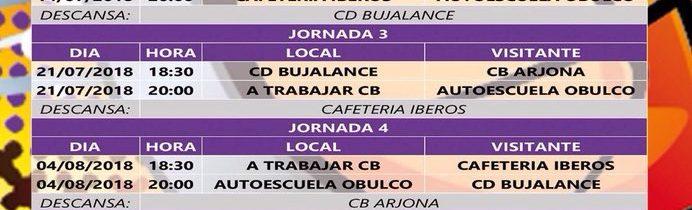 Liga Baloncesto Porcuna 2018 – Jornada 5