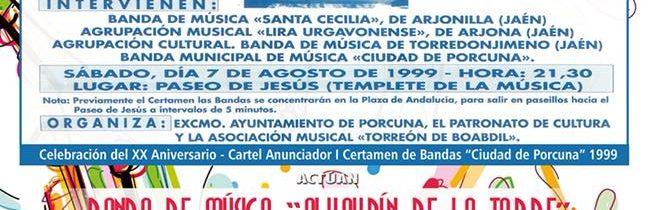 "XX Certamen Bandas Música ""Ciudad de Porcuna"""