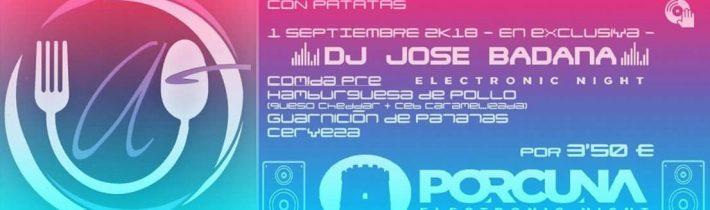 PreElectronic: DJ Jose Badana