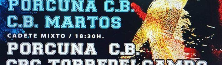 Baloncesto base del Porcuna C.B (3 partidos)
