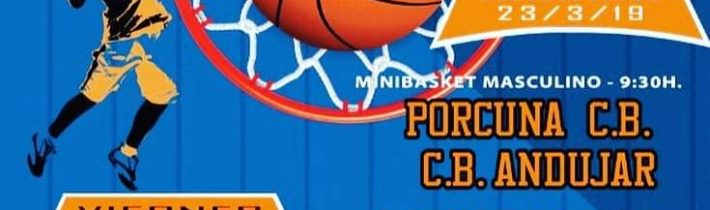Baloncesto base del Porcuna C.B (2 partidos)