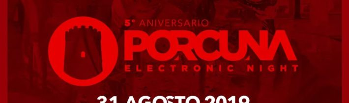 Porcuna Electronic Night