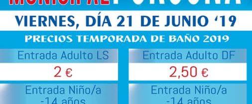 Apertura piscina municipal 2019