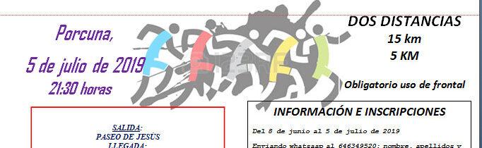 """VII Quedada Running Nocturna """"Tierra de Íberos"""""""