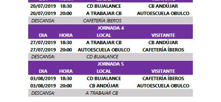 XXXIII C. Baloncesto «Ciudad de Porcuna» – Jor 1