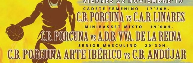 Baloncesto:  Porcuna Arte Ibérico – CB Andujar