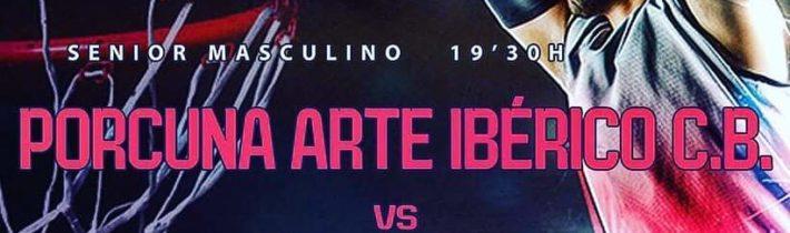 Baloncesto:  Porcuna Arte Ibérico – CB Martos