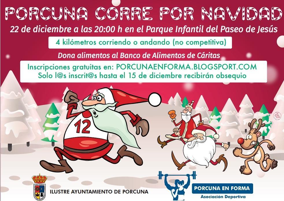 Porcuna corre por Navidad