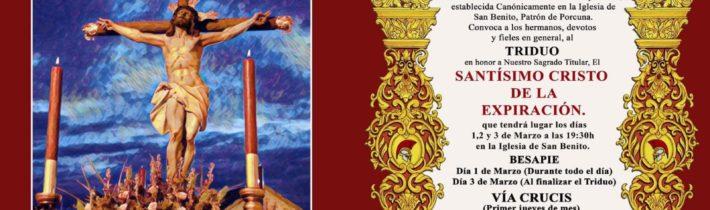 Viacrucis del Cristo de la Expiración