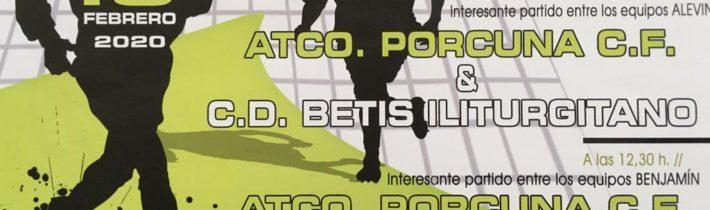 Fútbol base del Atco. Porcuna (ALE-BEN)