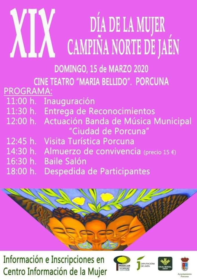 XIX Día de la Mujer Campiña Norte de Jaén