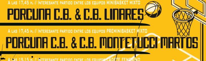 Baloncesto base del Porcuna C.B (MIN-PRE-CAD)