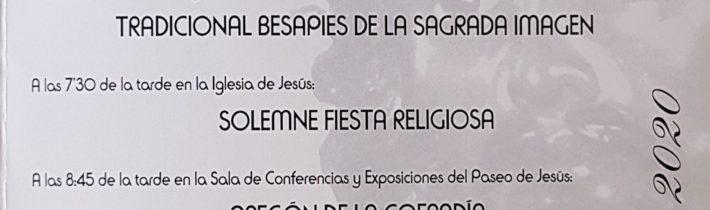 Besamanos y Pregón del Cristo de Medinaceli