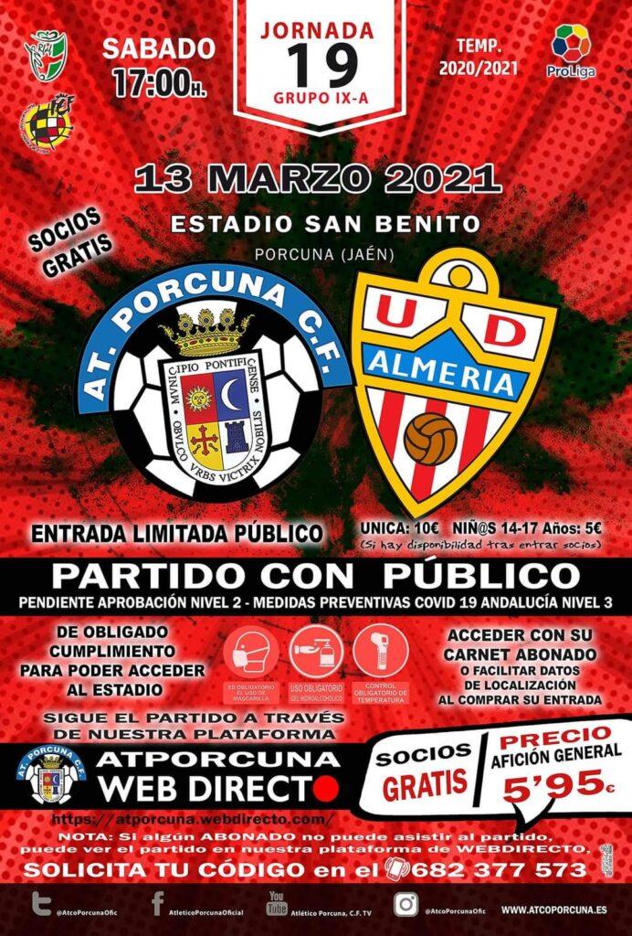 Fútbol arco porcuna Almería