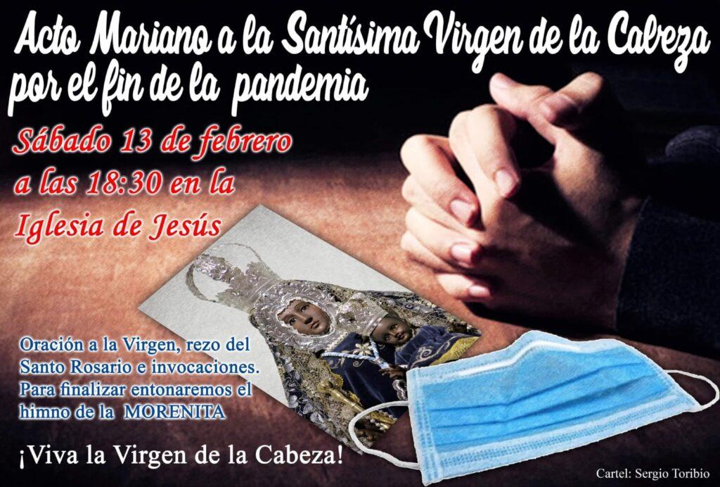 Acto mariano a la Santísima Virgen de la Cabeza en Porcuna