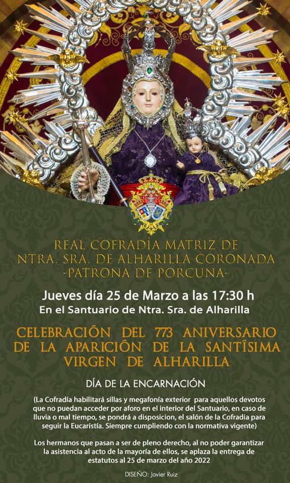 Fiesta de la Encarnación en Porcuna 2021
