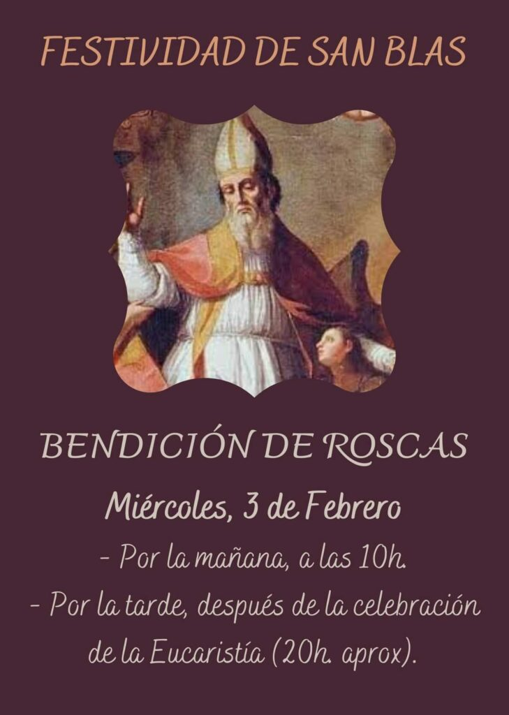 Bendición San Blas - Porcuna 2021
