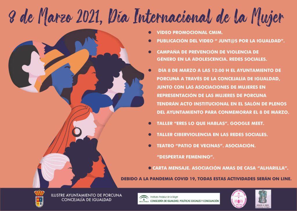 Día Internacional de la Mujer. Porcuna 2021
